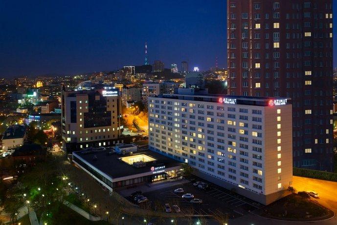 AZIMUT Отель Владивосток