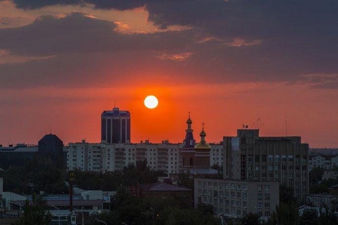 Отель Park Inn Astrakhan