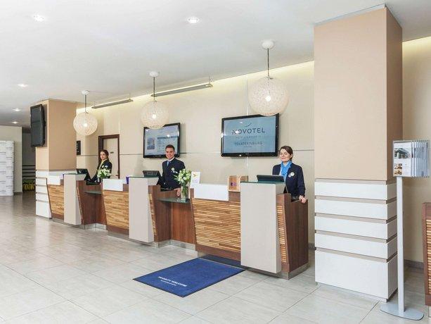 Отель Novotel Ekaterinburg Center