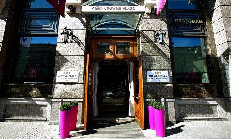 Отель Crowne Plaza St. Petersburg Ligovsky
