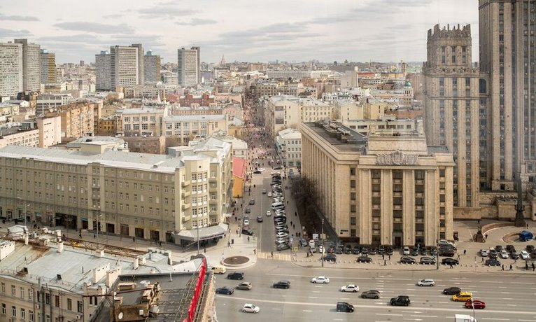 Гостиница AZIMUT Smolenskaya Moscow