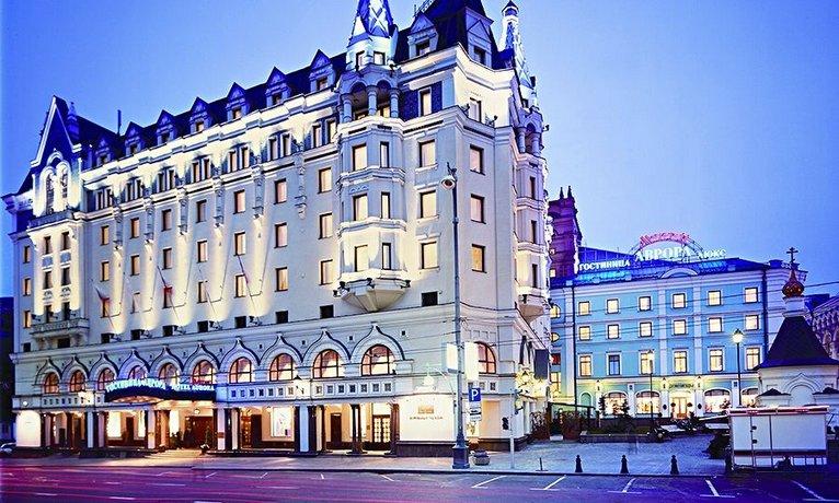 Отель Moscow Marriott Royal Aurora