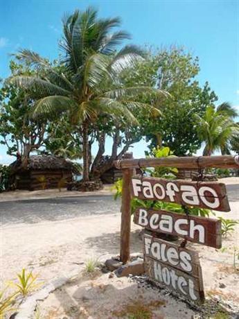 Faofao Beach Resort - dream vacation