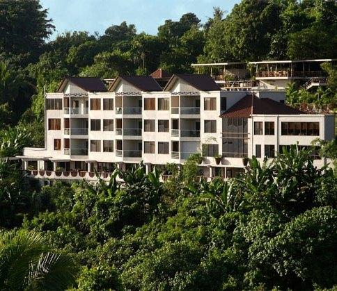 Cliffside Hotel Palau - dream vacation
