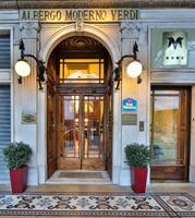 Отель Best Western Hotel Moderno Verdi