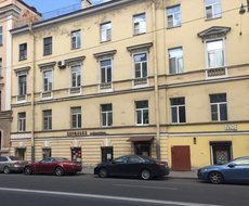 Rinaldi by the Mariinsky theatre