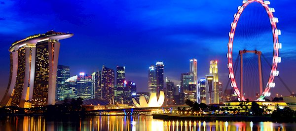 Hoteller i Singapore by