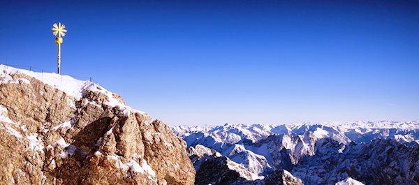 Zugspitze Summit Cross