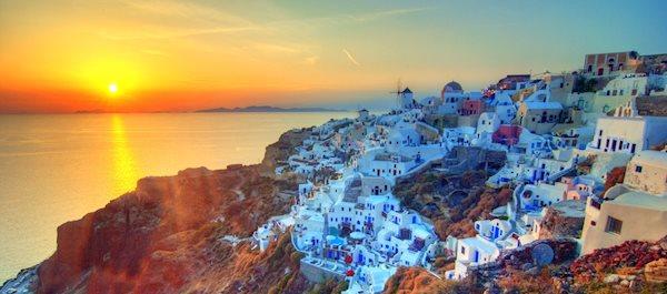 Hotell i Santorini