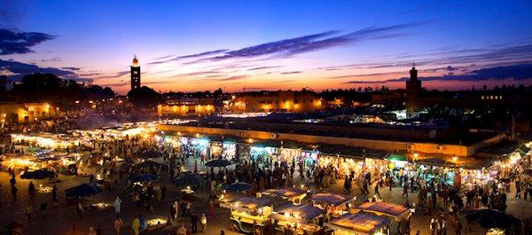 Hoteller i Marrakech