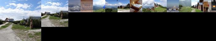 Alpen Berghutte Sonnstein Panorama