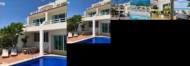 Prime Eight Bedroom Beach House Cancun