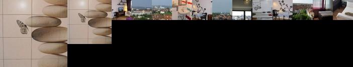 Blick uber Karlsruhe - Ferienwohnung Panorama