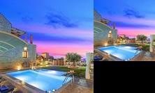 Cretan Sunrise Villa Heated Pool