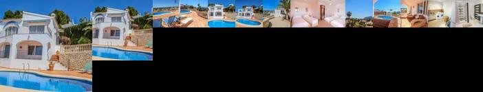 Aloha - sea view villa with private pool in Benissa