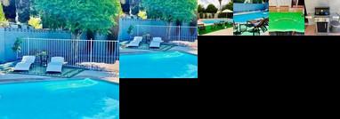 Impressive Home w/ Private Pool Hot Tub & BBQ Area
