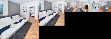 Boho Chic Three Bedroom Apartment Minutes to NYC Ten beds