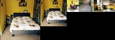 Private and Cosy One Bed Flat with Yellow Wall and Big Window Fully Equipped Kitchen and Off Street