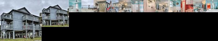 Breezy Beach Getaway Condo w/ Deck + Grill
