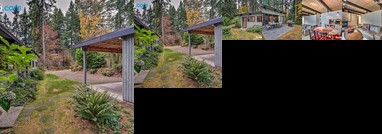 Updated 1970s Island Bungalow 8 Miles to Seattle