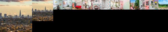 Designer Artistic Home Roof Terrace 24h Transport Greater London