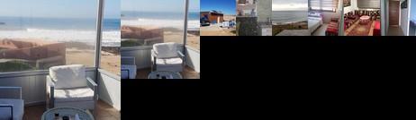 Chalet au bord de la plage