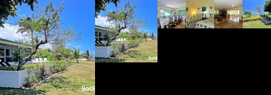 Seafront Staffed Villa with Garden in Gated Community 6 Beds 3 Bdrms JhV25