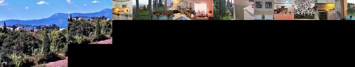 Potamos apartment with view